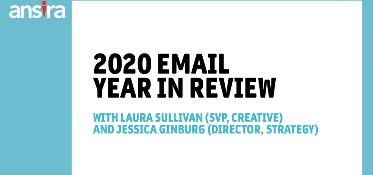 2020 Email Year in Review
